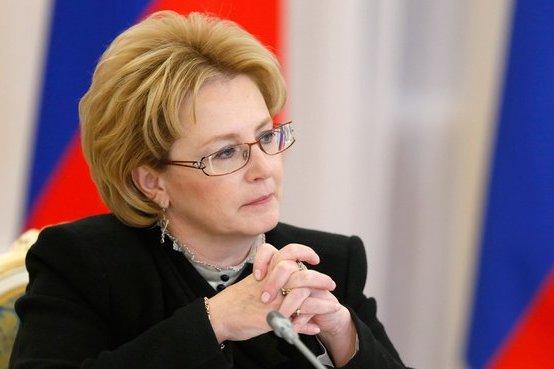 Глава Минздрава РФ Вероника Скворцова