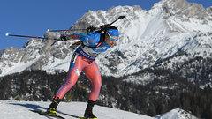 Россиянки провалили индивидуальную гонку на ЧМ по биатлону