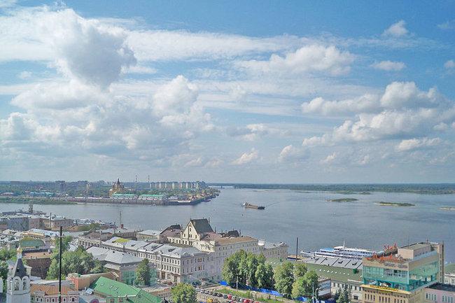 Нижний Новгород, Волга