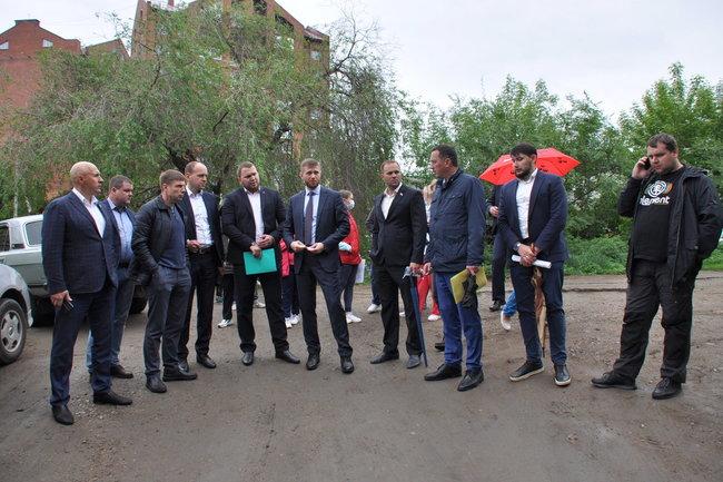 Депутаты Думы Иркутска обсудили проблему подтопления Канской улицы