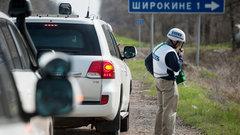 Миссия ОБСЕ рассматривает возможность круглосуточного пребывания в Широкино