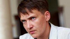 Савченко попросила Путина освободить украинских политзаключенных