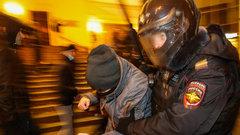 В России вынесен первый приговор по делу о нападении на полицейского на митинге 23 января