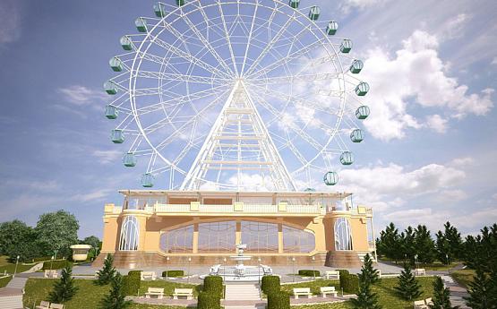Новосибирск колесо обозрения