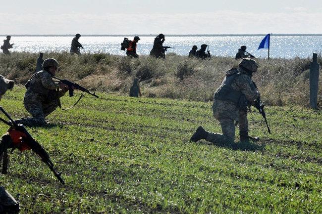 ВКиеве анонсировали военные учения вАзовском море