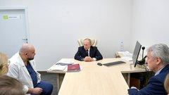 Денис Проценко: больница в Коммунарке, похвала от Путина и коронавирус