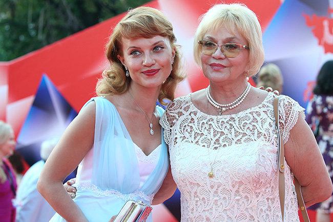 Ирина Шевчук с дочерью Александрой