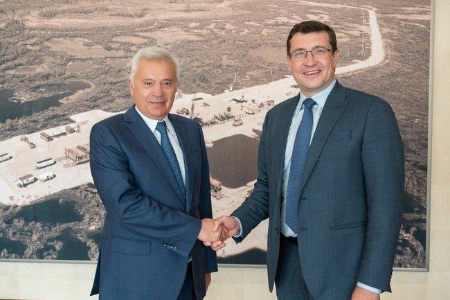 Губернатор Нижегородской области встретился с главой «Лукойла».