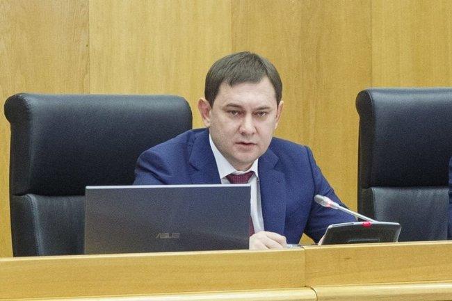 Председатель Воронежской облдумы Владимир Нетёсов