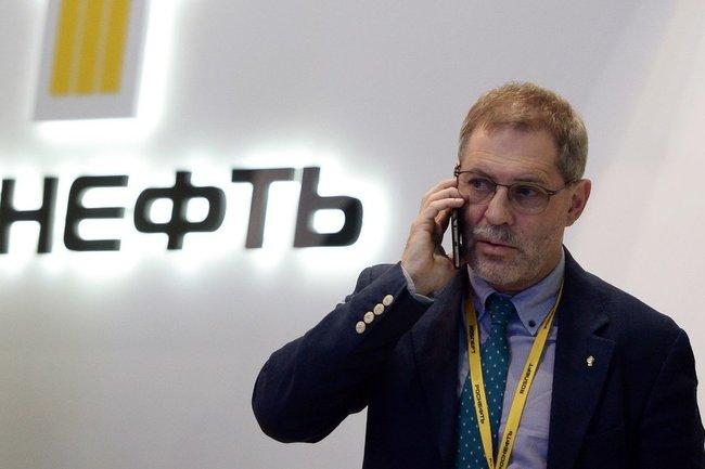 """Пресс-секретарь """"Роснефти"""" Михаил Леонтьев"""