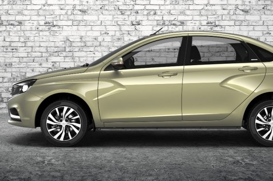 Lada Vesta — Exclusive