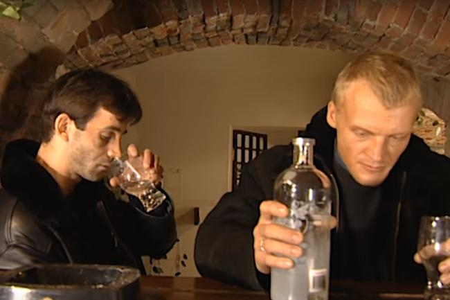 Дмитрий Певцов и Алексей Серебряков