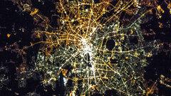 Американские города светятся в разы ярче немецких