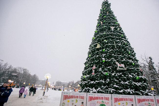 «Горьковские елки» вНижнем Новгороде пройдут на 3-х площадках