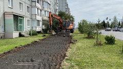 В Череповце за три месяца отремонтируют 45 тротуаров