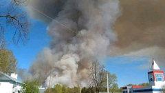 Взрывы возобновились вбывшей воинской части вУдмуртии