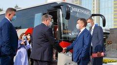 В Нижневартовске появился экологичный автобус