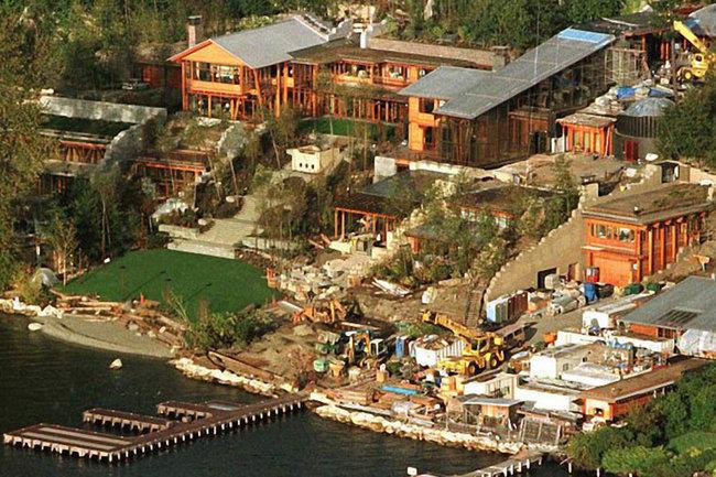 Дом Билла Гейтса, в Медине, Вашингтон
