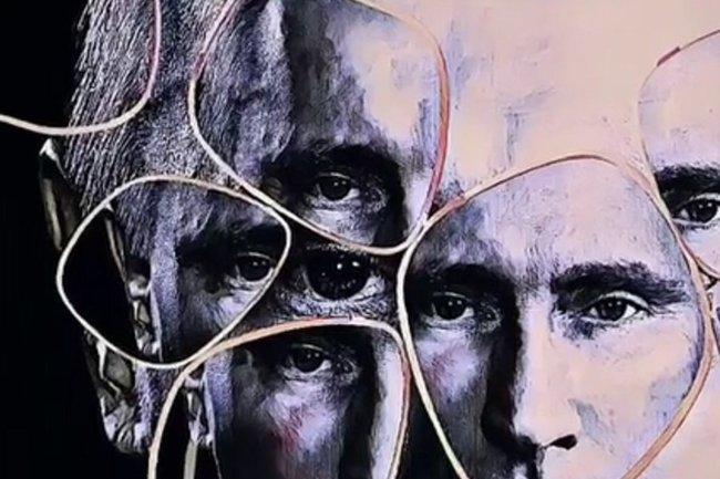 портрет Владимира Путина