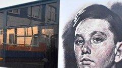 В Боровском районе начал ездить автобус с именем пионера-героя