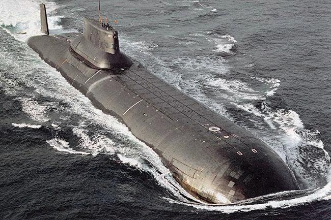 подводная лодка проекта 941
