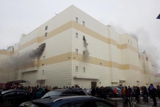 Опознали 12 человек напожаре вТЦ «Зимняя вишня»