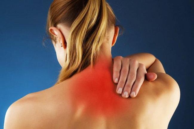 миозит мышцы боль спина шея