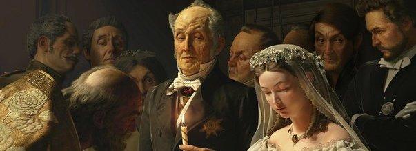 Василий Пукирев «Неравный брак» 1862