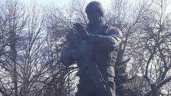 В Луганске появился памятник погибшим «вагнеровцам»