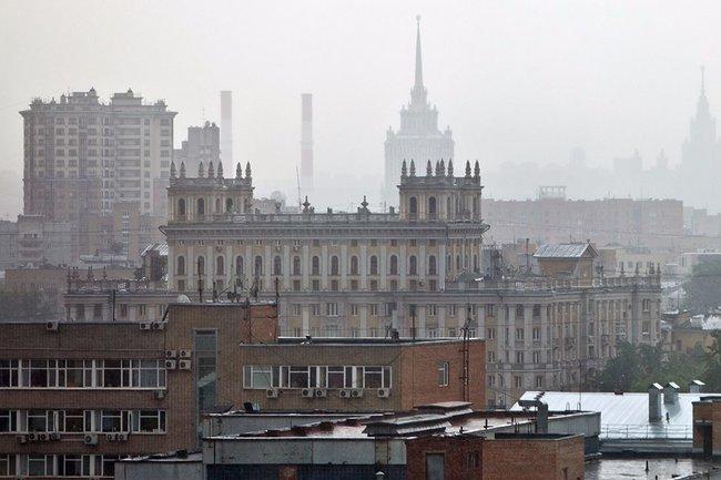 МЧС предупредило, что погода в столице России иобласти вближайшие часы ухудшится