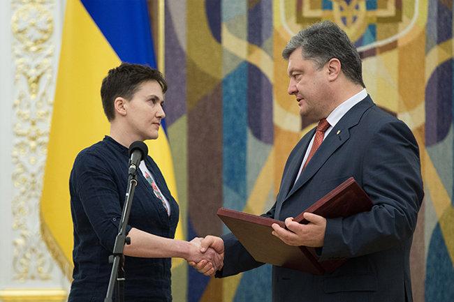 кухни надежда савченко герой украины порошенко Максимов
