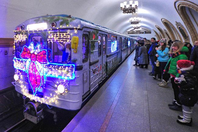 Наталья Сергунина: поезд «Путешествие вРождество» расскажет о столичных традициях зимних праздников