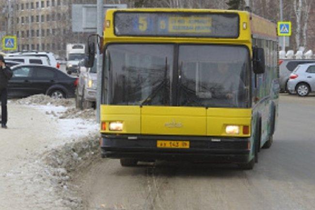 Жители Ханты-Мансийска увидели «читающий» автобус