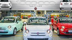 Выпущен полуторамиллионный экземпляр ситикара Fiat 500