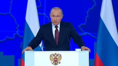 Хазин: Путин взял крен влево