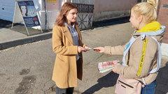 На улицах Вольска волонтеры агитировали за ЗОЖ