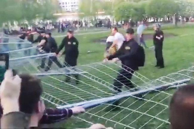 Екатеринбург протест храм