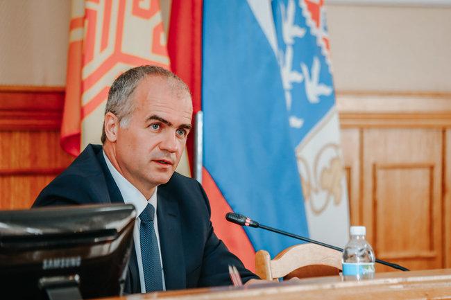 Глава администрации Чебоксар Алексей Ладыков.