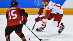 Российские хоккеистки уступили канадкам в полуфинале Олимпиады