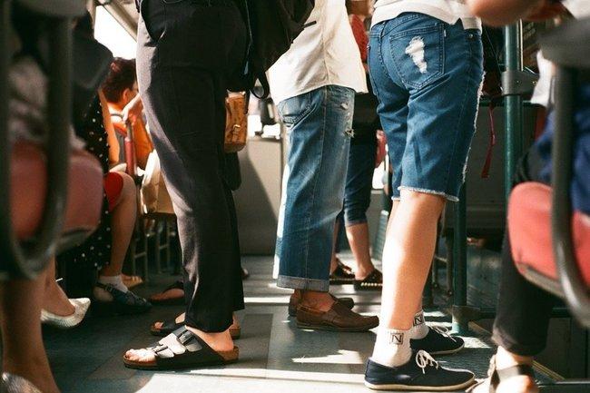 автобусы пассажиры