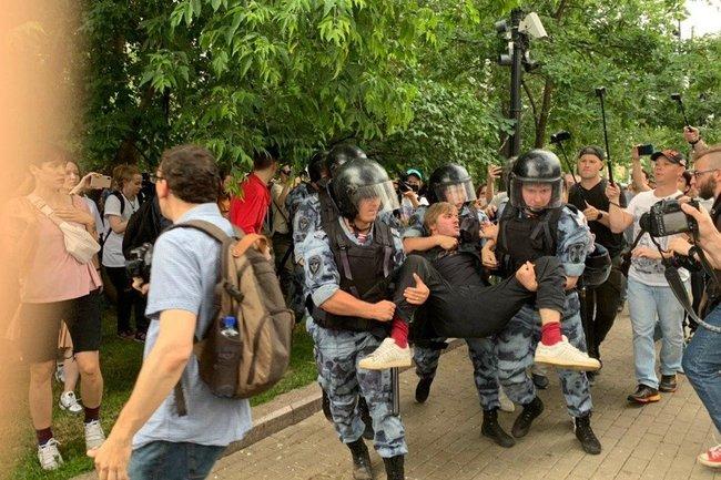 Москва, День России