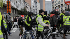 «Желтые жилеты» готовятся взять штурмом столицу Евросоюза: Брюссель на осадном положении