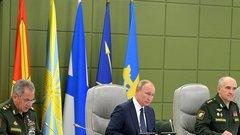 В Минобороны объяснили отмену пуска одной из ракет на учениях под руководством Путина
