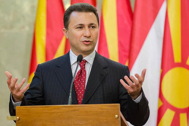Прежний  премьер Македонии Никола Груевский осужден надва года тюрьмы
