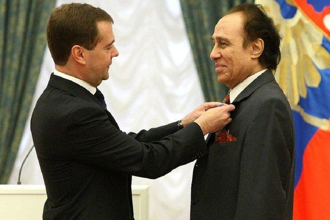 Николай Сличенко и Дмитрий Медведев