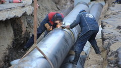 В Курске завершилось восстановление тепломагистрали