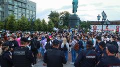 Оппозиции не удалось направить недовольство голосованием в уличный протест