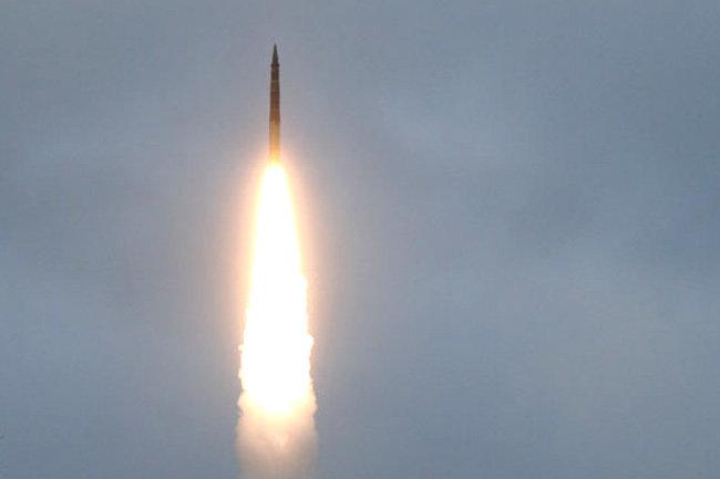 Тополь испытания ракета пуск