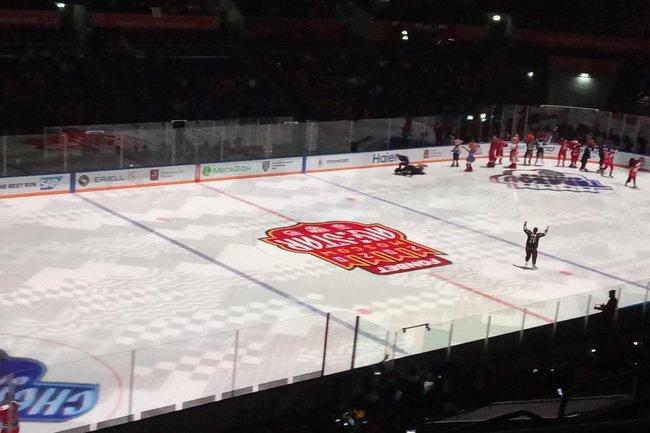 Лёд с эмблемой