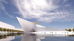 В Калининграде показали концепцию Большого театра на острове Октябрьском